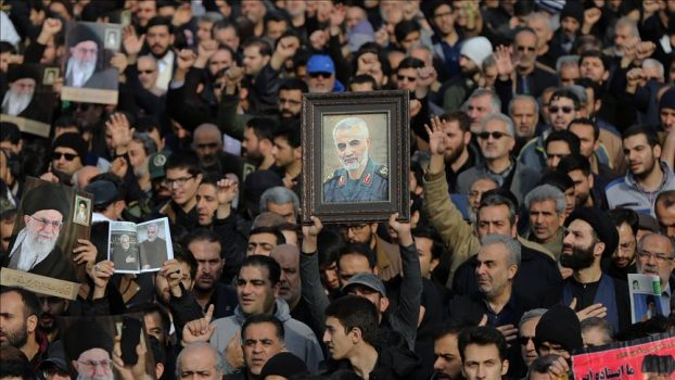تشییع جنازه القائد سلیمانی